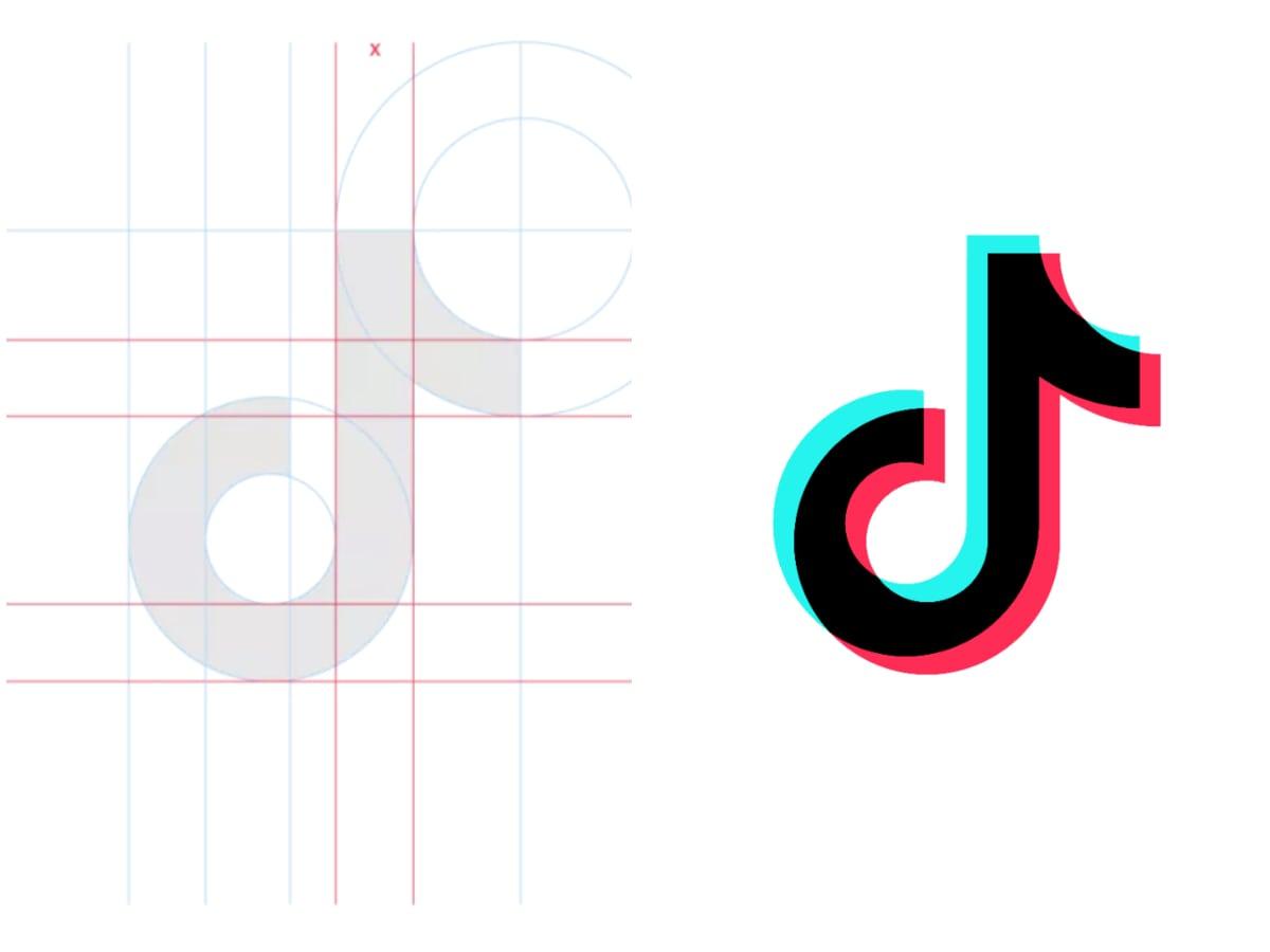 El Logo De Tiktok Logo El Significado Detrás De La Nota Colorida Logaster