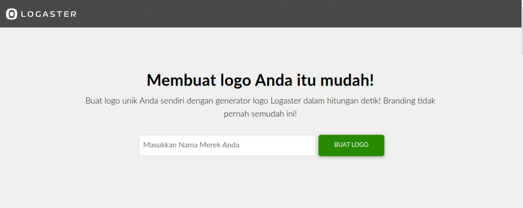 50 Ide Logo Nama Perusahaan Gratis Logaster